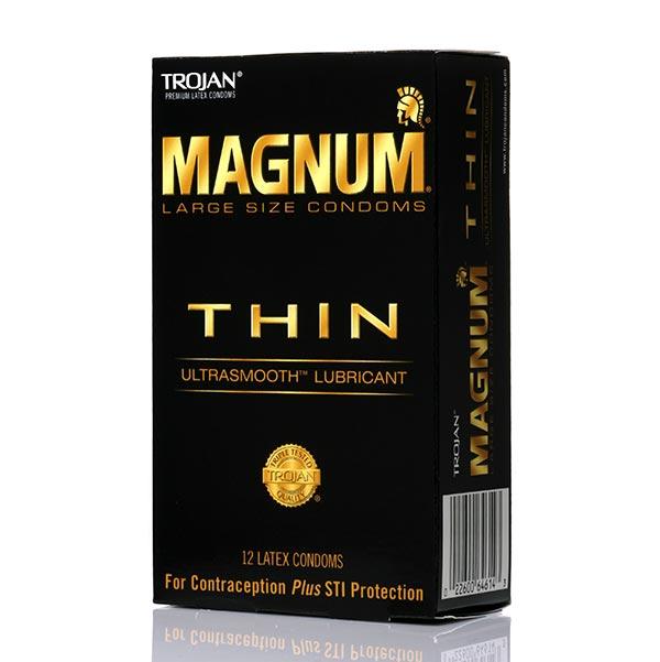 Préservatif Trojan Magnum Thin