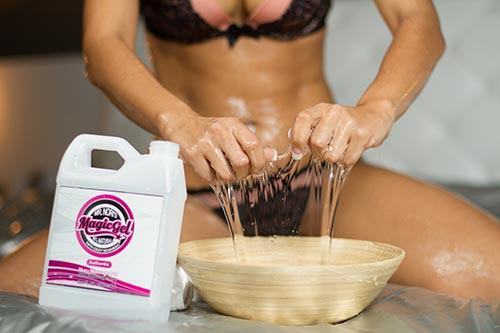 Gel de massage Nuru à base d'eau